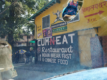 Just a restaurant in India