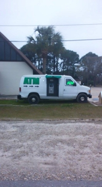 Just an ATM during Spring Break in Panama City Beach Looks legit
