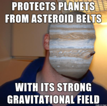 Just learned this about one of my favorite planets Good Guy Jupiter