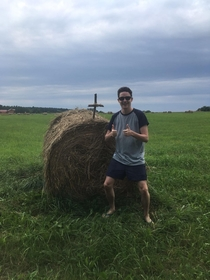 Just met Christian Bale