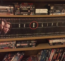 Just re-arranged my friends DVD collection How long before he notices