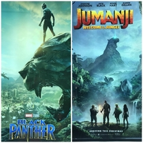 Just realize Black Panther is part of Jumanji Game