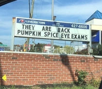 Just when I thought the pumpkin spice craze was getting out of control