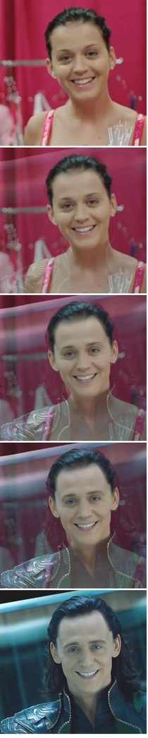 Katy Perry is Loki