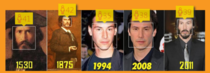 Keanu doesnt age Even the computer agrees
