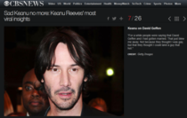 Keanu Reeves Addressing Gay Rumors