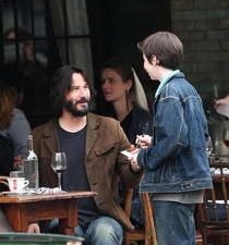 Keanu turning water into wine