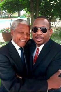 Kenyan Senator Mike Sonko posts on his Facebook about the time he met Mandela Hmm