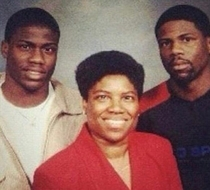 Kevin Hart could easily play all  roles in a movie about his family