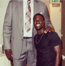 Kevin Hart just posted this photo of him and Shaq