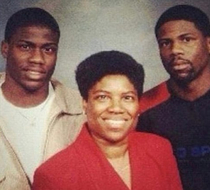 Kevin Harts mom looks more like Kevin Hart than Kevin Hart looks like Kevin Hart