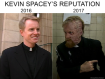 Kevin Spaceys reputation