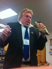 Kid at my school dressed up as Rob Ford