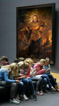 Kids these days wouldnt even know whom to call