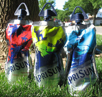Kids today will never know the horrors of the old capri sun pouches