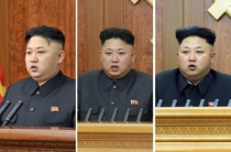 Kim Jong Un eyebrows become smaller from year to year