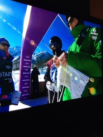 Knitting at the Winter Olympics