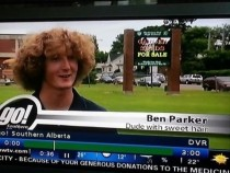 Ladies and gentlemen Ben Parker Dude with sweet hair