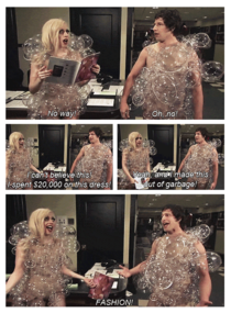 Lady Gaga and her fashion choices