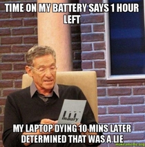 Laptop battery woes