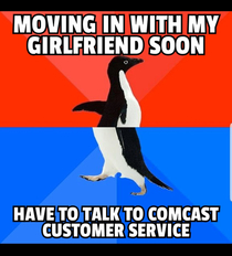 Last time I changed addresses it took  hours of phone calls and  separate trips to the Comcast store