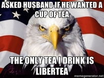 last time Ill ask my husband if he wants tea