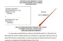 Lawyers working against Buzzfeed in a lawsuit decided to take some mocking liberties in the title of their filings