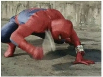 Leaked footage of Spider-Man V Ant-Man