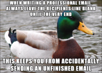 Learned this one from awkwardly resending too many emails
