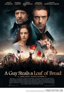 Les Miserables truth movie poster