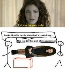 Let me be your ruler