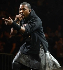 Let me remind you that Kanyes skirt photo was removed from the internet six months agoI havent seen it lately either