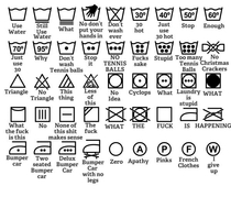 Lets all agree that laundry icons are shit