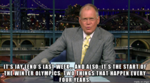 Letterman nails it