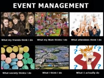 Life as an Event Manager