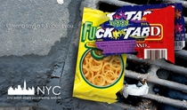 Littering campaign New York