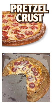 Little Caesars Pretzel Crust Pizza