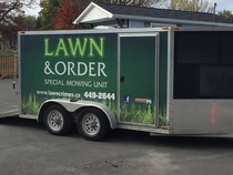 Local lawn care business