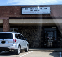 Local Pet Hospital Marquee