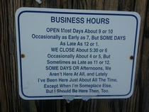 Local surf shop hours