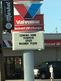 Local Valvoline really gets it