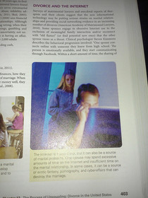 Look who I found in my Sociology textbook