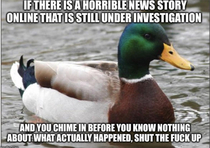 Looking at you novice Facebook reporters