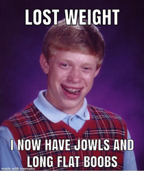 Losing weight when youre old sucks
