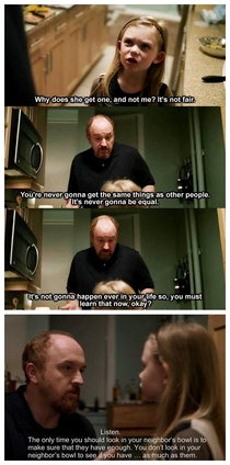 Louis CK and some of the best practical advice Ive heard