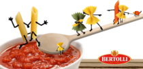Love and Pasta for All - Bertolli posted this in response to Barillas anti-gay statement