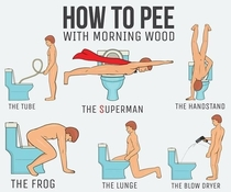 LPT How to pee with morning wood
