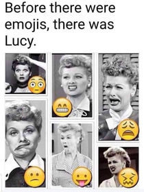 Lucille Ball The OG face of funny