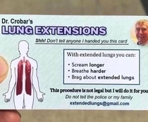 Lung extensions