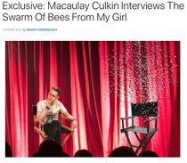 Macaulay Culkin Interviews The Swarm Of Bees From My Girl